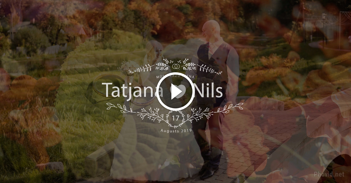 Tatjana 🖤 Nils - kāzu video